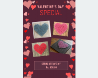 Art & Collectibles - string art -valentines day special in Malabe